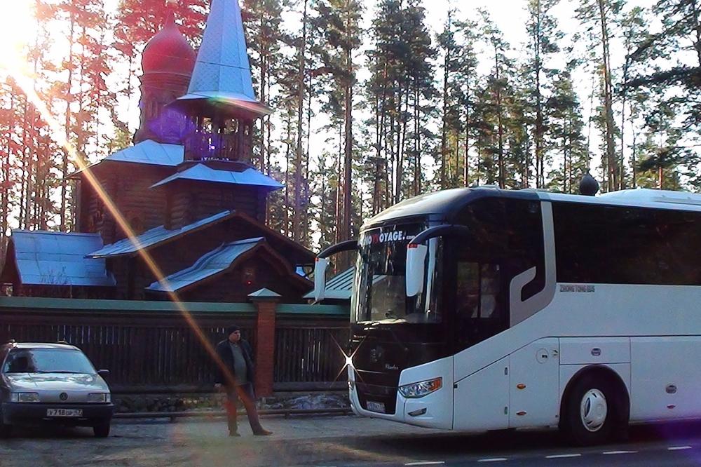 Автобус восстания черная речка